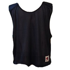 Champion Cropped Reversible Mesh Tank Top Athletic